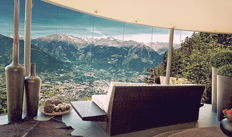Miramonti Boutique Hotel, Avelengo, South Tyrol, Italy. Designed by Tara Architekten @compactliving