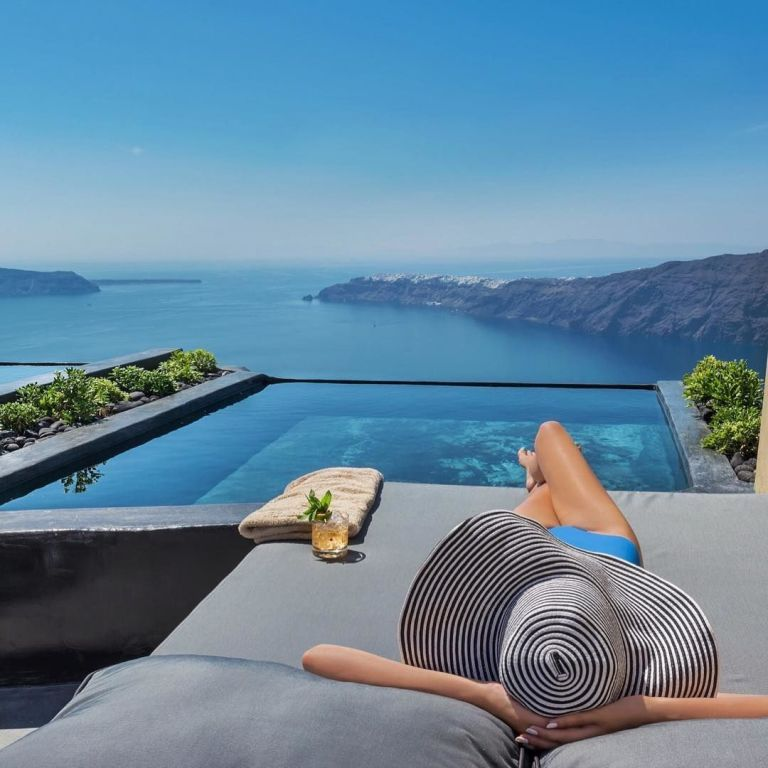 Andronis Concept Santorini Photography by @luxuryworldtraveler