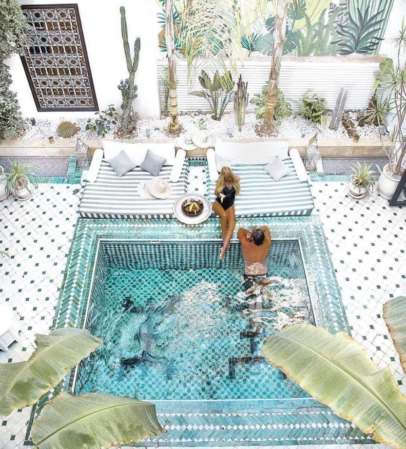 @mrandmrsmonnet Le Riad Yasmine Marrakech ⠀